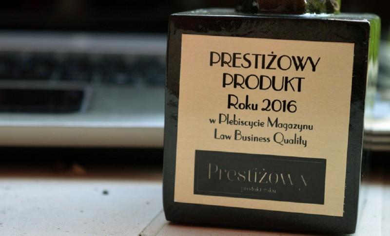 prestiżowy produkt roku plebiscyt