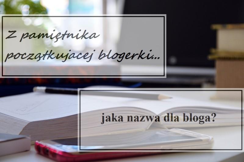 jaka nazwa dla bloga