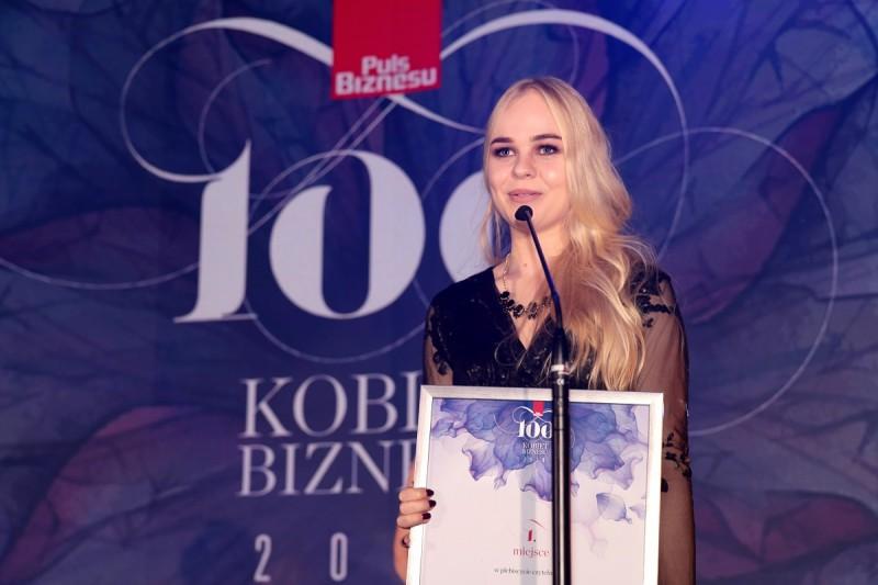 Anna Kołoda – Senior Project Manager Nakatomi LLC na Gali 100 kobiet Biznesu